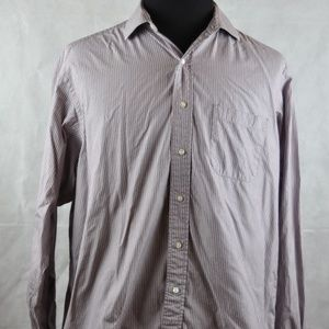 Brooks Brothers Makers Long Sleeve Shirt Sz 17-5